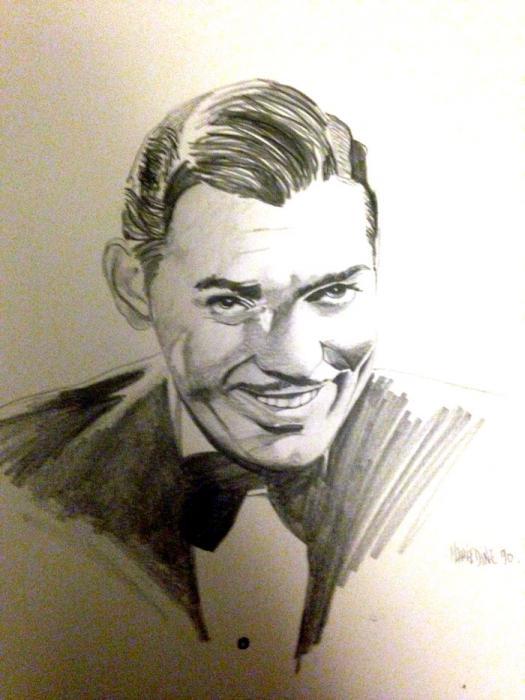 Clark Gable por Colorfarma